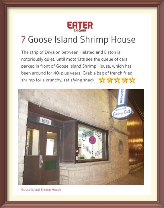 Goose Island Shrimp House Chicago Eater Review