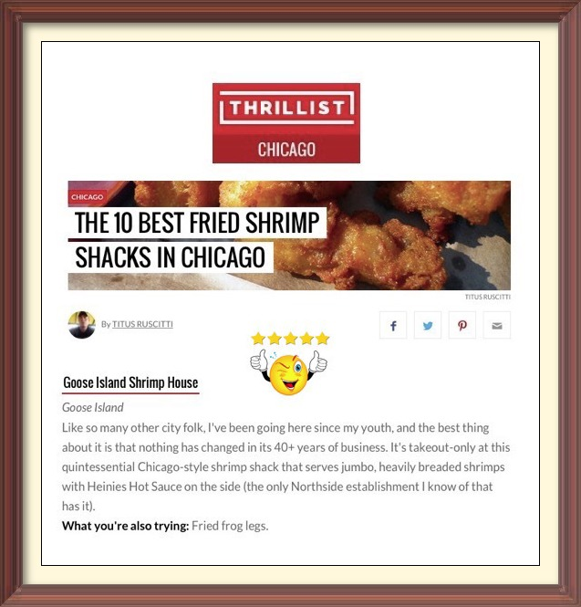 Goose Island Shrimp House Thrillist Review