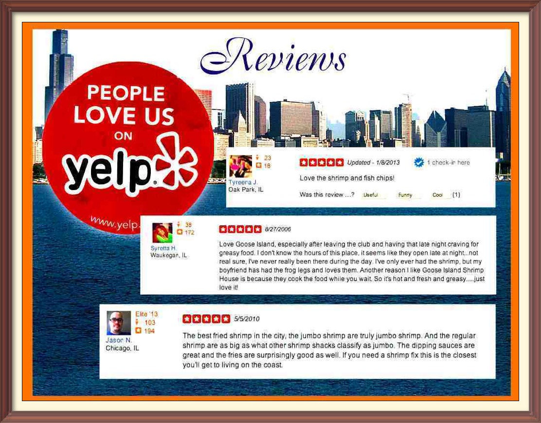 Goose Island Shrimp House Chicago Yelp Reviews